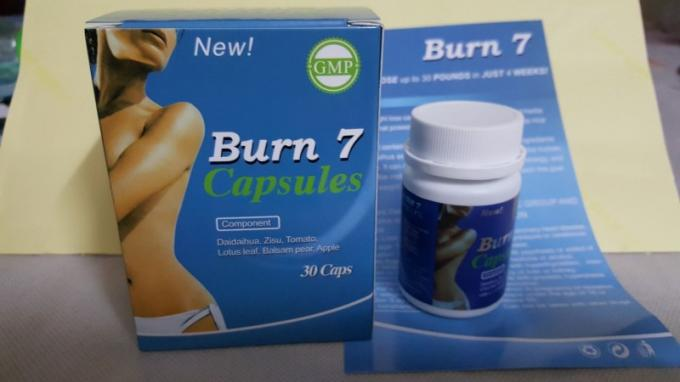 Non Disposable Effective Slimming Pills Burn 7 Slimming Capsules Unisex