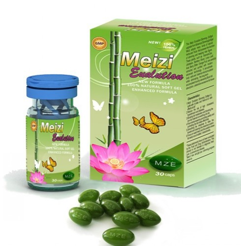 Botanical Meizi Evolution Soft Gel , Best MZE Meizi Evolution Diet Pills