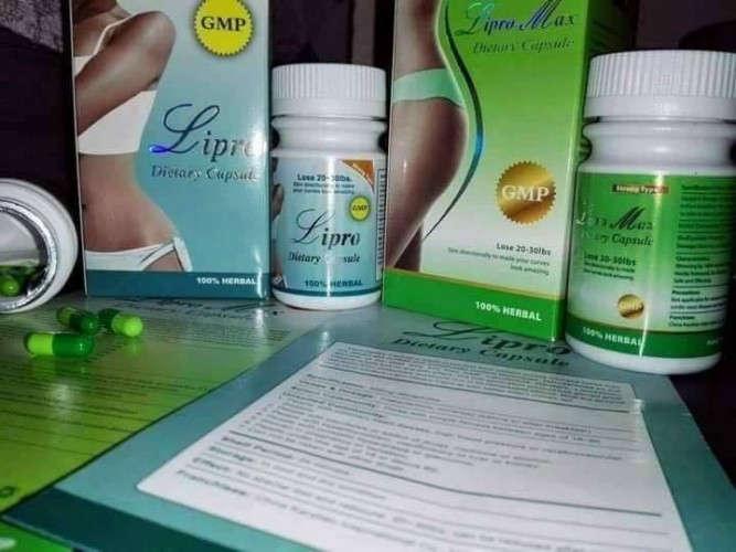 Original Herbal Natural Weight Loss Diet Pills Lipro Max Dietary Capsules