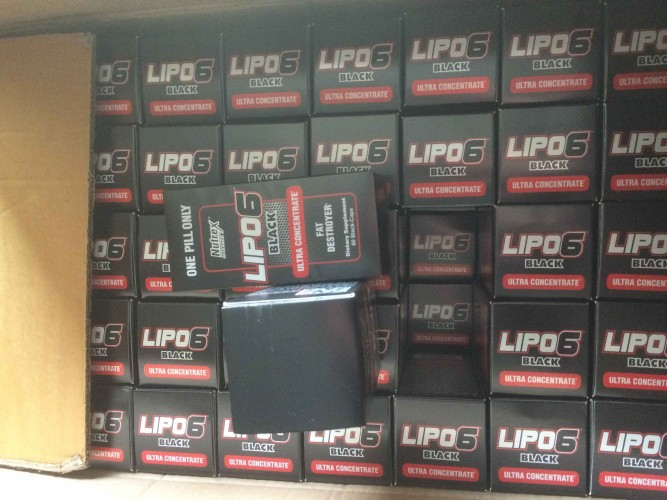 Nutrex Lipo 6 BLACK Ultra Concentrate 60 Caps Fat Reducing Pills Capsule Form