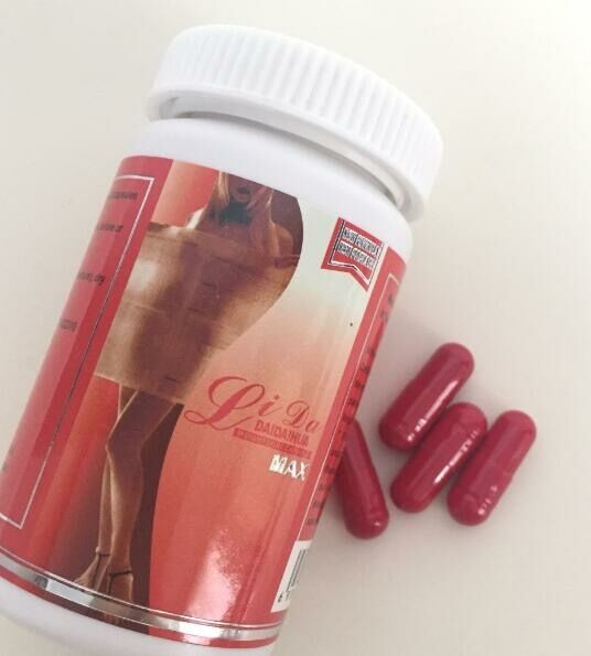 Plant Extract Effective Slimming Pills Herbal Lida Max Red Strong Effective Capsule