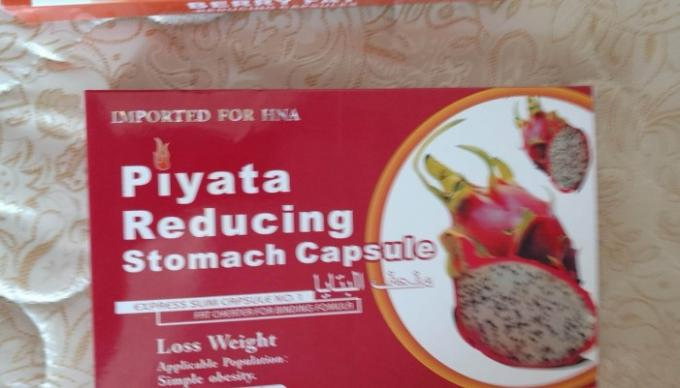 Piyata Reducing Stomach Capsule Weight Loss Pills Fruit Extract For Oral Administration