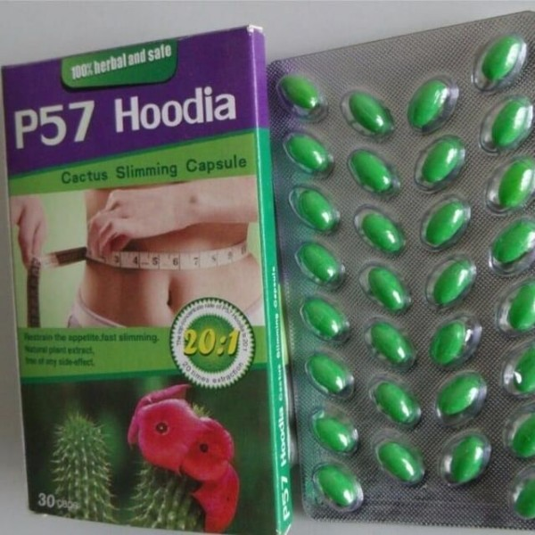 100% Herbal Natural Slimming Capsule P57 Hoodia Most Effective Weight Loss Product