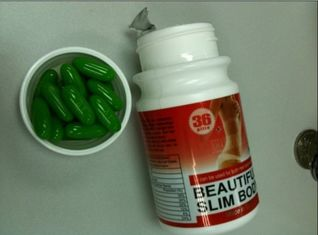 China Beautiful Slim Body Quick Slimming Capsule , No Side Effect Herbal Slim Products supplier