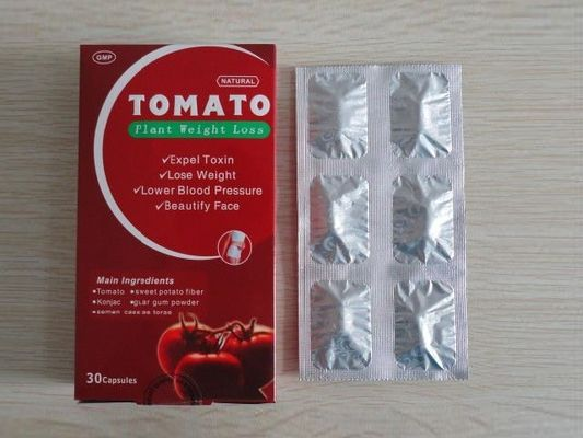 China Tomato Plant Natural Slimming Capsules Fast Weight Loss Products 30 Pills / Box supplier