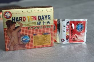 China Hard Ten Days Male Perf Pills , Adult Increase Stamina In Bed Pills No Side Effect supplier