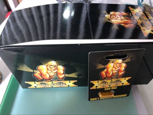 China Gold Reallas XXX 500mg Male Performance Pills Erection Superman Stiff Hard supplier