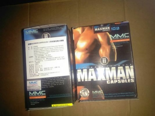 China MAXMAN II Natural Male Performance Supplements Penies Enlargement Pills Stronger supplier