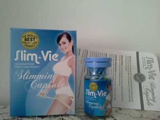 China Strong Herbal New Slimming Pills , Slim Vie Slimming Capsule For Body Fat Burning supplier
