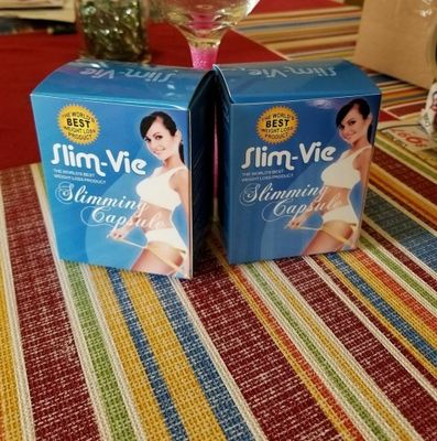 Slim Vie Natural Slimming Capsule Body Shape Burning Fat Herbs Suppressing Appetite