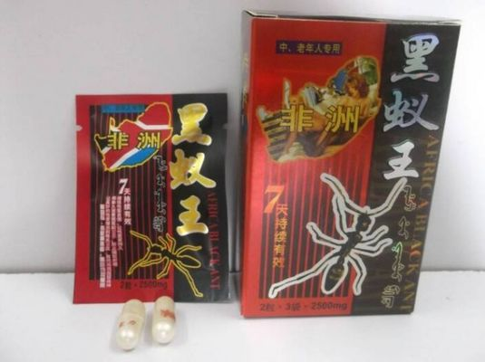 China Ant King Sexual Enhancement Pill 100% Natural Herbal Improve Sexual Performance supplier