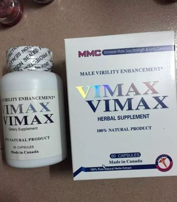 Vimax Sex Enhancer Penis Enlargement Capsules Effective Natural Male Pills 60 Tablets