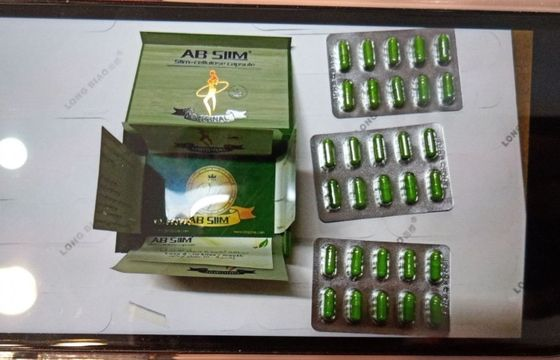 China Ab Effective Slimming Pills Weight Loss Capsules Blister Pack Strong Effect supplier