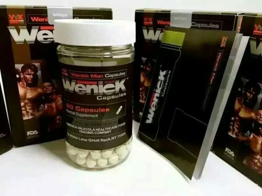 China VVK Wenick Herbal Male Enhancement Pills 60 Capsules / Bottle For Increasing Sexual Desire supplier