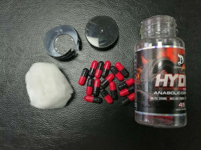 Muscle Fitness Natural Slimming Capsule Hydra Fat Burning Diet Pills
