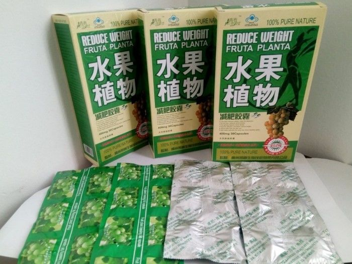 Fruta Planta Fruit Slimming Capsule Natural Plant Extract 400mg 30