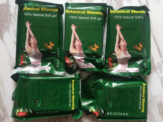 China Natural MZT Botanical Soft Gel Slimming Capsule Meizitang Weight Loss Supplements distributor