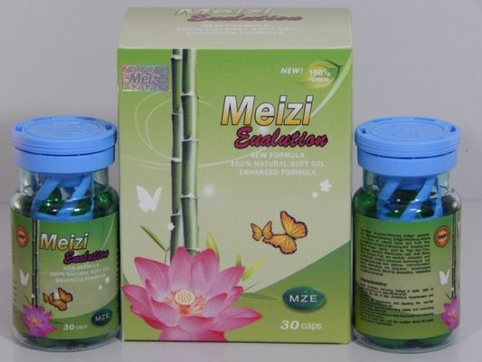 China Meizi Evolution Botanical Soft Gel Slimming Capsules Mze Reduce Weight Diet Pills distributor